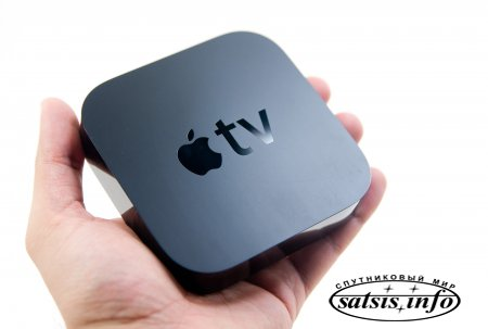 ����� Apple TV ���������� � ������ � �������