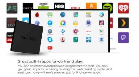 Beelink Mini MX TV Box Android 5.1 Amlogic S905 Quad-core